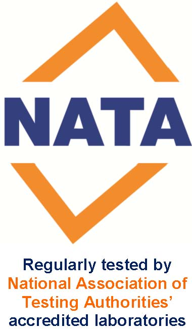 NATA accredited